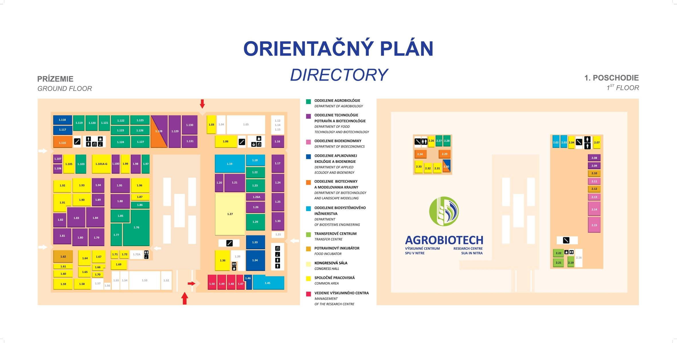 Orientačný plán VC ABT