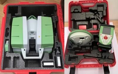 Terestrický laserový skener + Polohovacie a navigačné zariadenie