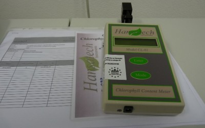 Prenosný chlorofylmeter