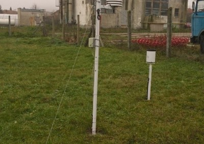 Small meteorological station