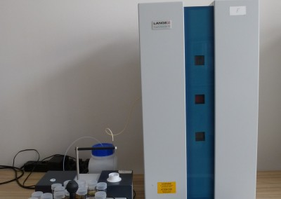 Nitrogen analyzer with autosampler