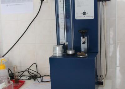 Vacuum pycnometer